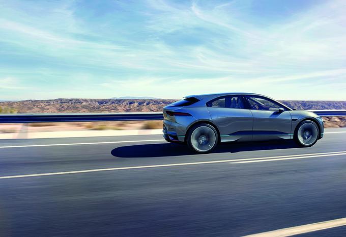 Fotos Knappe I Pace Wordt Jaguar S Eerste Elektrische Auto