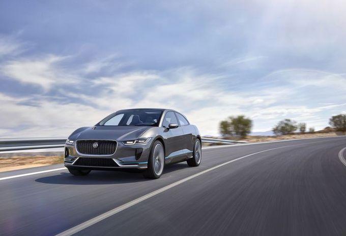 Jaguar I-Pace : concept du futur SUV électrique #1