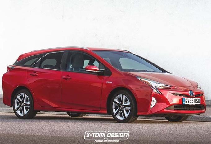 Toyota Prius break : Délire de designer ? #1