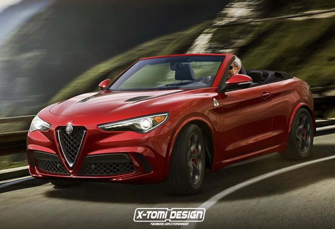 alfa romeo stelvio aussi en cabriolet moniteur automobile. Black Bedroom Furniture Sets. Home Design Ideas