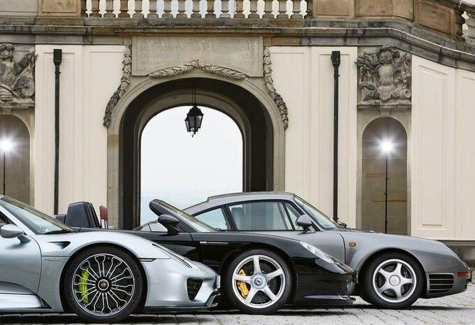 Porsche : pas de descendante immédiate pour la 918 Spyder !  #1