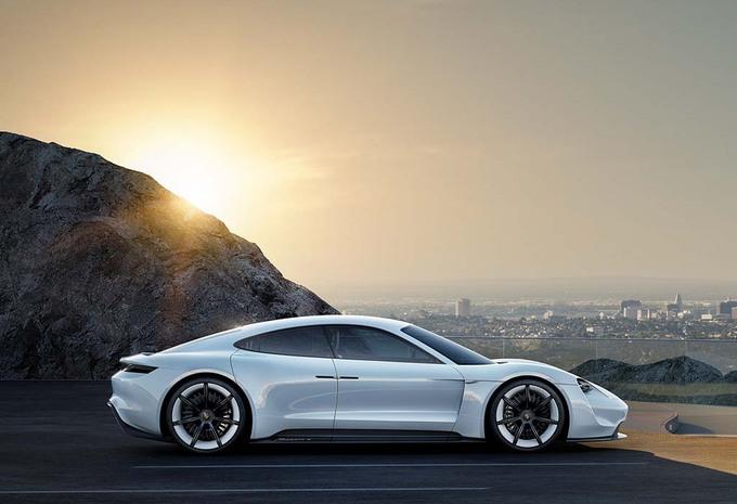 Porsche Mission E : Elle représentera 10% des ventes ! #1