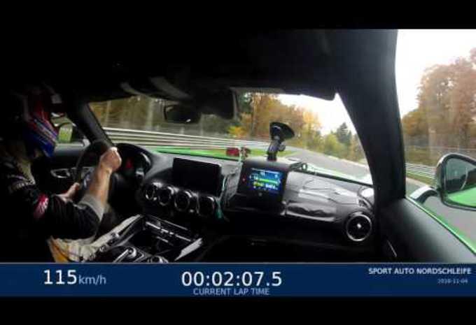 Chrono canon pour la Mercedes AMG GT R #1