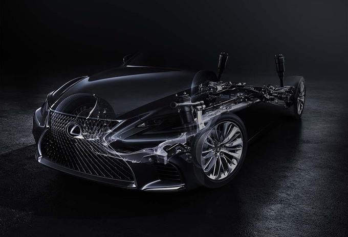 Lexus : La nouvelle LS arrivera en janvier 2017 #1