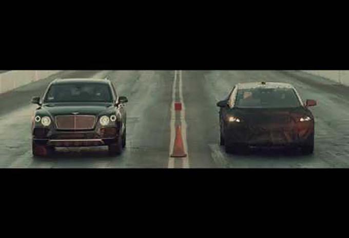 Faraday Future : un prototype nargue Bentley, Ferrari et Tesla #1