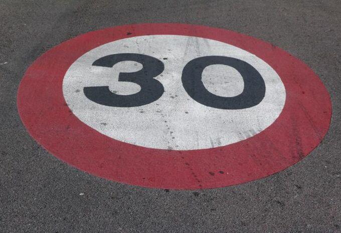 30 zones 30 variables en plus en Wallonie #1