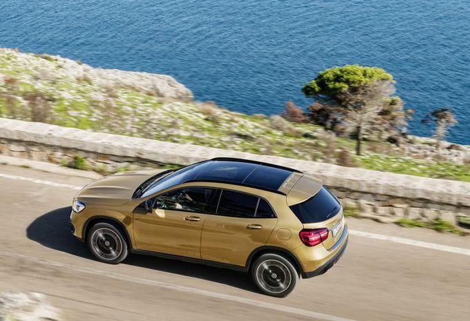 Mercedes GLA: facelift in Detroit #10