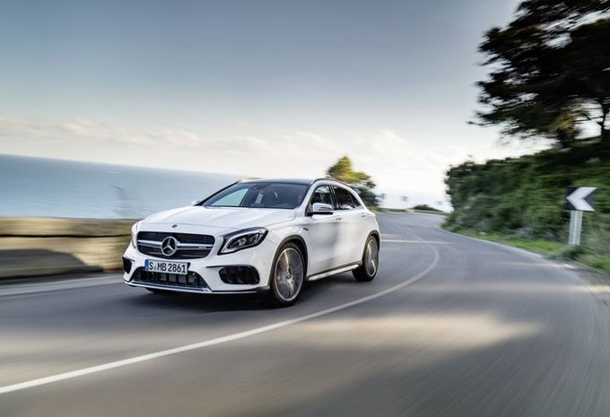 Mercedes GLA: facelift in Detroit #2