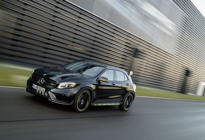 Mercedes GLA: facelift in Detroit #4