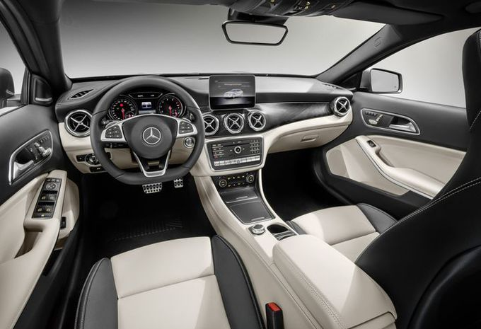 Mercedes GLA: facelift in Detroit #7