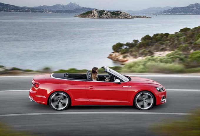 Audi S5 Cabriolet wordt 40 procent stijver #2
