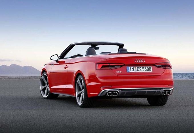 Audi S5 Cabriolet wordt 40 procent stijver #6
