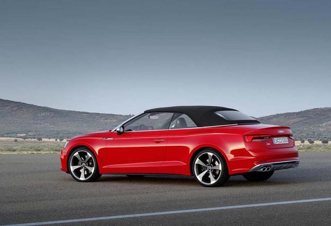 Audi S5 Cabriolet wordt 40 procent stijver #7