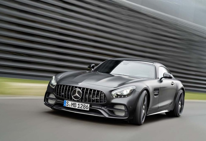 Mercedes : l'AMG-GT C aussi en Coupé #1