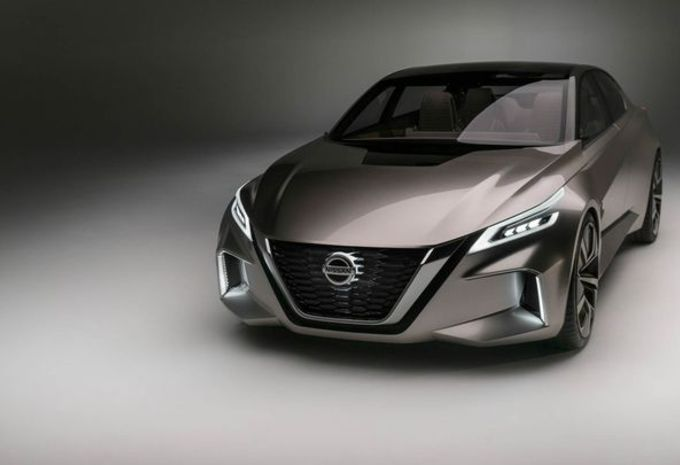 Nissan Vmotion 2.0 : concept de grande berline #9