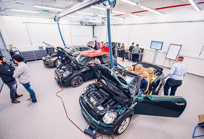 BMW Belux investeert in opleidingen autotechniek #1