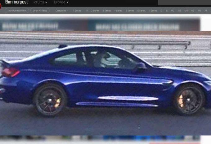 BMW : une nouvelle M4 à Genève !  #1