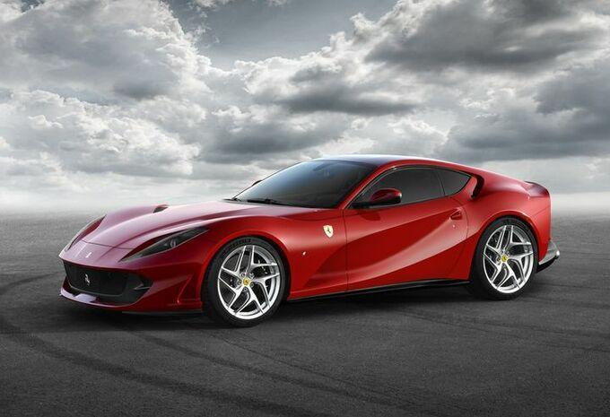 Genève 2017 - Ferrari 812 Superfast : 800 ch #1