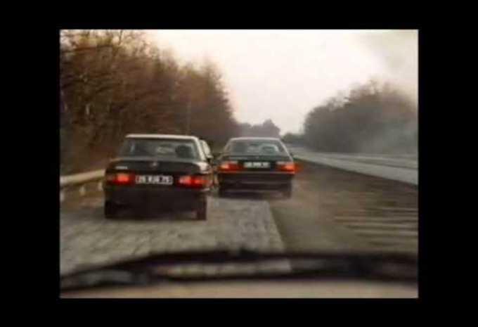 Spectaculaire achtervolgingsscène uit een Franse film van 1986 #1