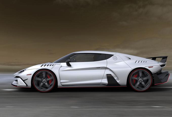 Italdesign Automobili Speciali Zerounda is Lamborghini Huracan met een twist #1