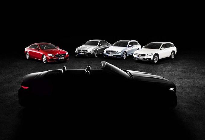 Mercedes E cabrio : Elle sera à Genève #1