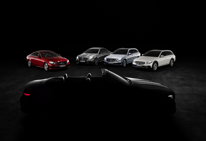 Mercedes E Coupé verwelkomt dakloze Cabriolet #1