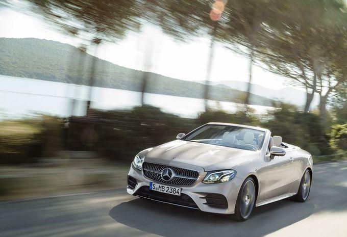 Mercedes Classe E Cabriolet : aussi en 4Matic #1