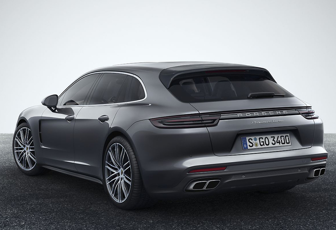porsche panamera sport turismo break met volume van liter autowereld. Black Bedroom Furniture Sets. Home Design Ideas