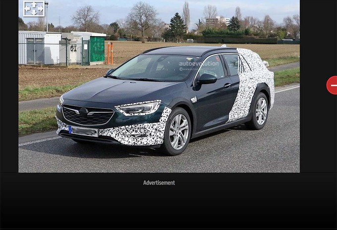 Opel Insignia Sports Tourer : Aussi en Country Tourer #1