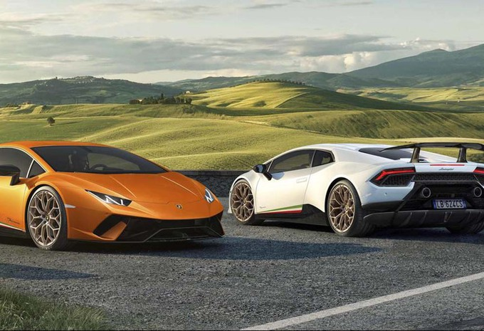 lamborghini huracan performante met gegoten koolstof. Black Bedroom Furniture Sets. Home Design Ideas