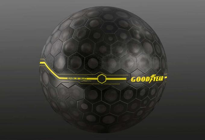 Goodyear Eagle 360 Urban : le pneu à l'intelligence artificielle #1