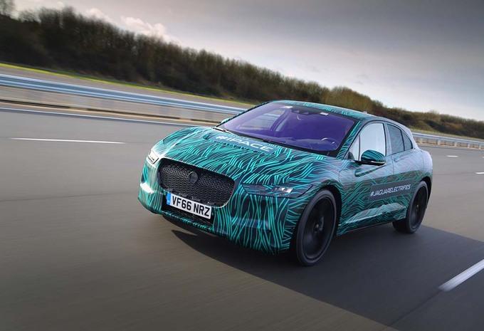 Jaguar I-Pace : nouvelle tenue #2