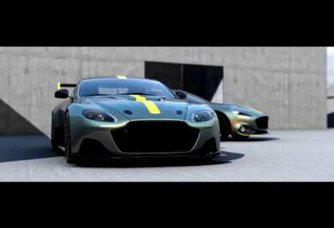 Vid 201 O Aston Martin Amr Pour Les Pistards Moniteur