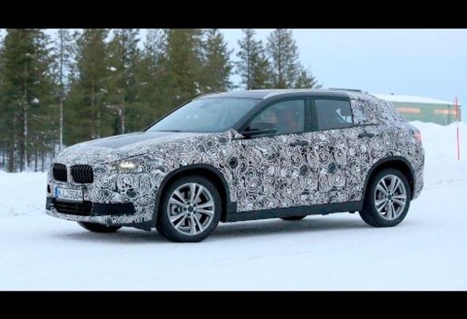 Le BMW X2 s'éclate dans le Cercle Arctique #1