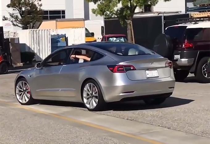 Tesla Model 3 : presque prête ! #1