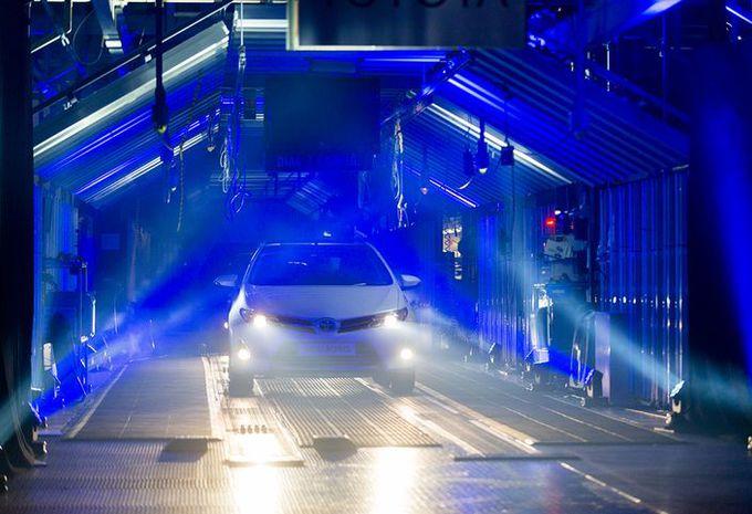 Toyota investit dans son usine anglaise #1