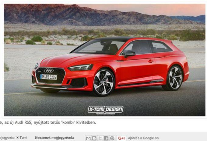 Audi RS5 : et pourquoi pas en Shooting Brake ? #1