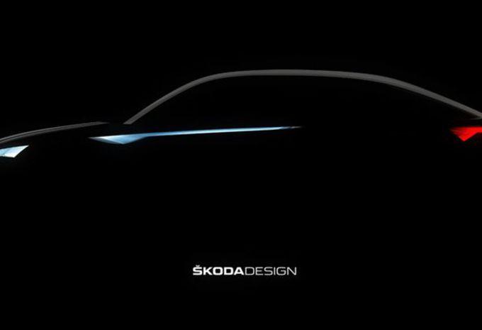 Škoda Vision E : Kodiaq coupé #1