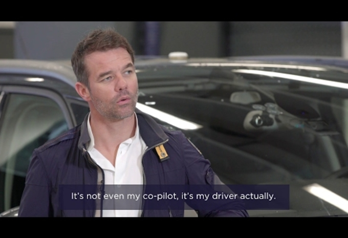 photos s bastien loeb teste la voiture autonome de psa moniteur automobile. Black Bedroom Furniture Sets. Home Design Ideas