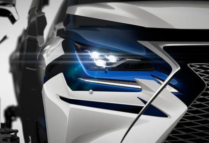 Lexus NX krijgt facelift met manga-trekjes #1
