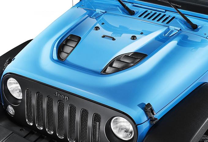 Jeep Wrangler als extra stoere Mopar One #3