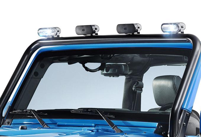 Jeep Wrangler als extra stoere Mopar One #4