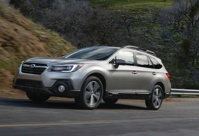 Subaru : subtil lifting pour l'Outback #1
