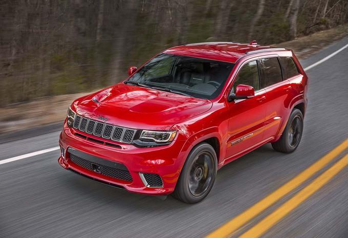 Jeep : Un Grand Cherokee Trackhawk de 700 ch #1