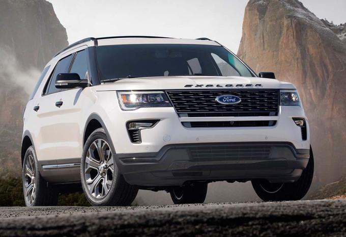 Ford Explorer : 3ème mise à niveau #1