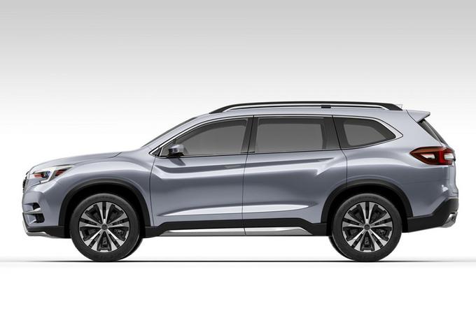 Subaru Ascent SUV Concept gaat zevenzitter vooraf #1