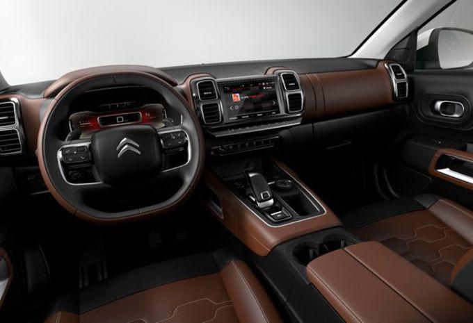 Nieuw model citro n c5 aircross nieuwe ophanging voor for Auto interieur bekleden prijs