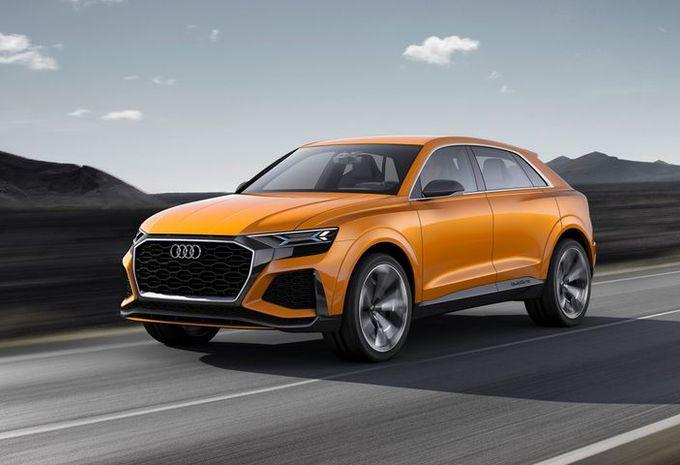 Audi prépare son SQ8 #1