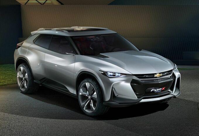 Chevrolet FNR-X Concept : SUV sportif #1