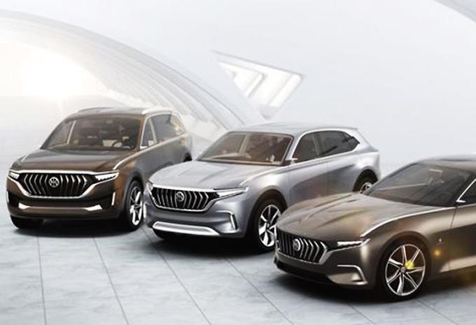 Pininfarina schetst SUV's voor Hybrid Kinetic  #1